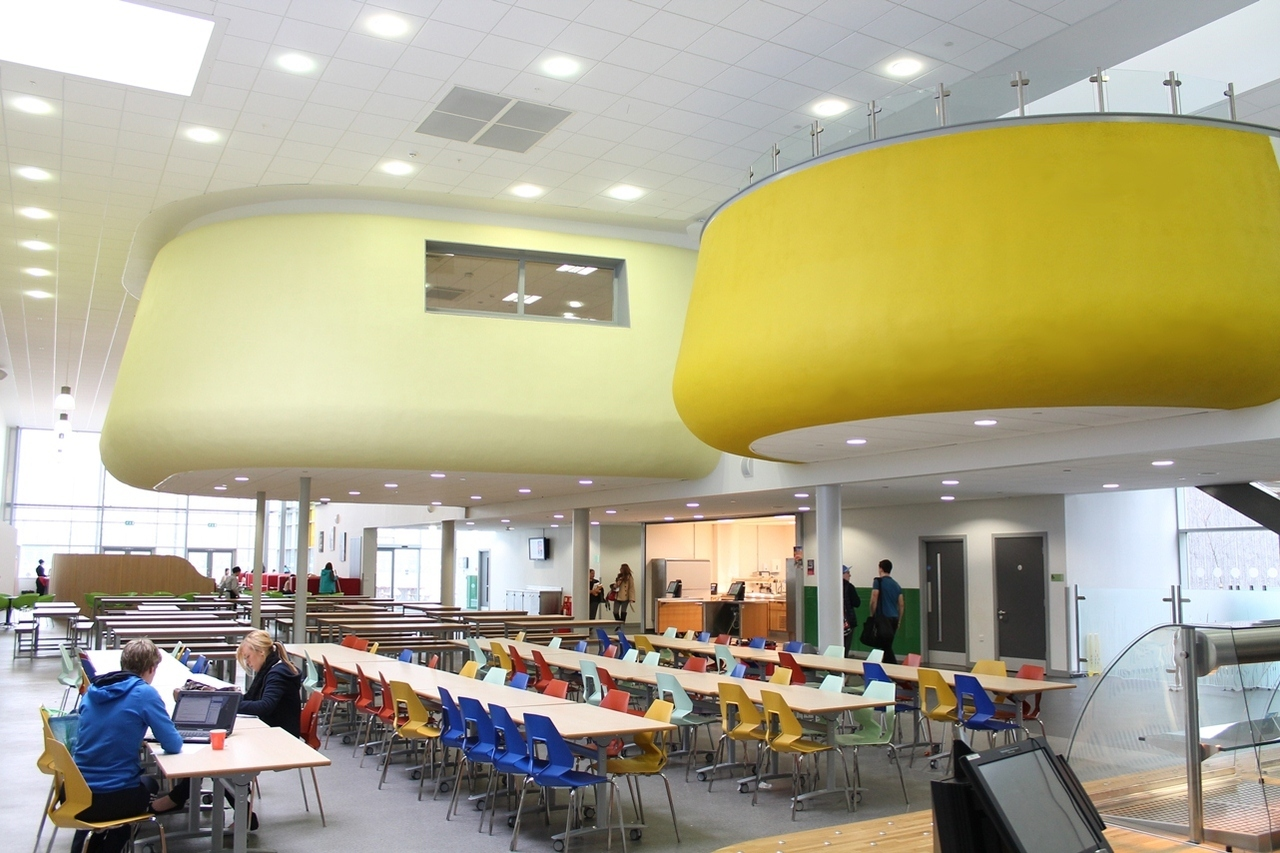 School Acoustics Pods SonaSpray fcx