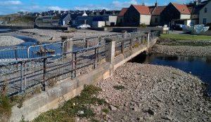 Original concrete bridge – Built in 1930's