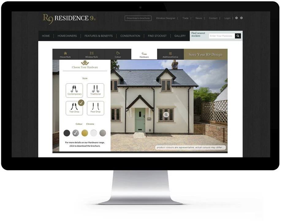 R9's Window Designer is a powerful sales tool for installers