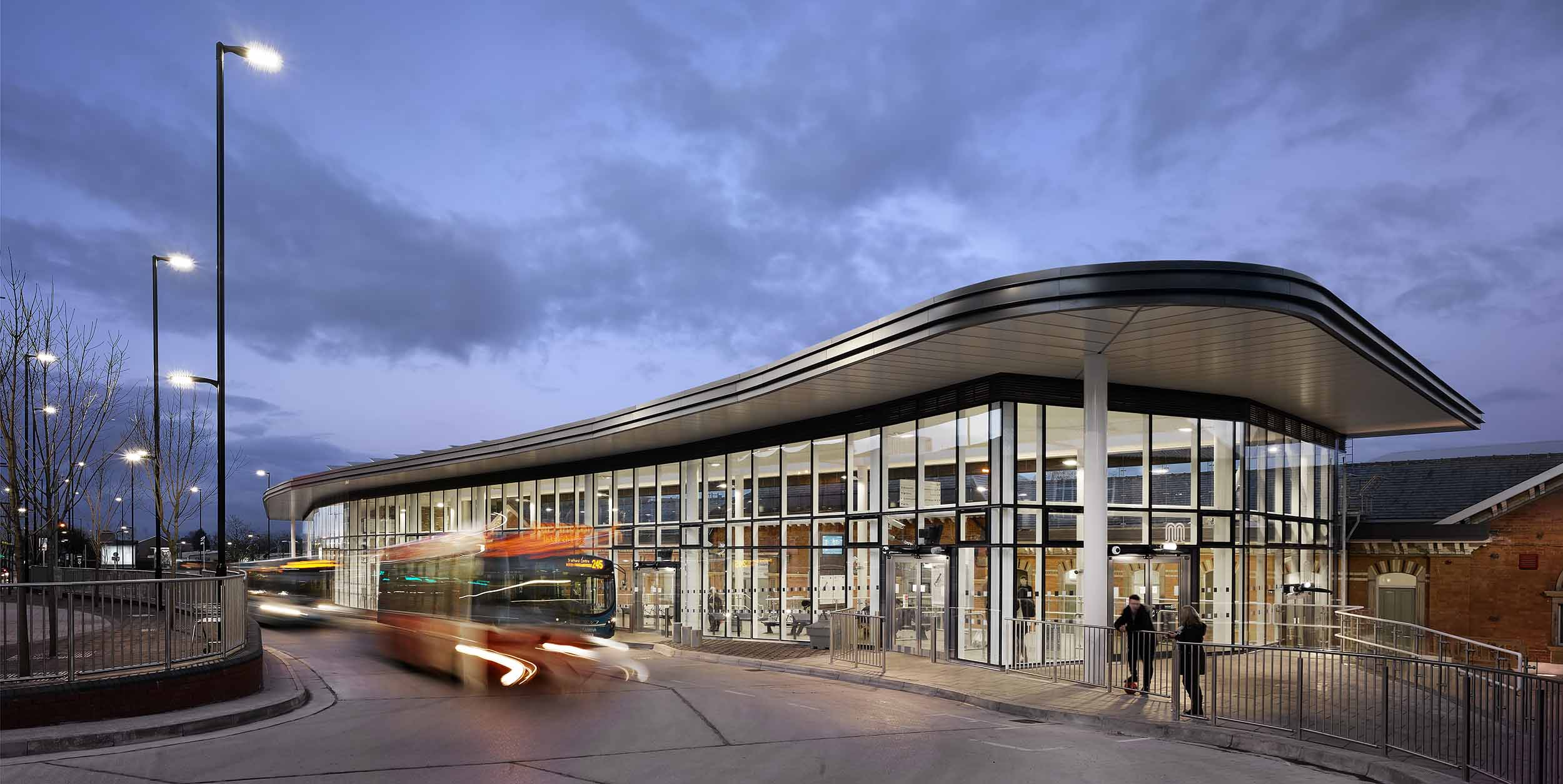 Building: Altrincham Bus Station Location: Altrincham, Greater Manchester Architect: AHR