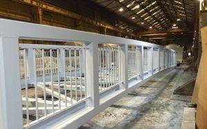 New Footbridge awaiting top coat